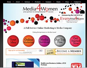 Media 4 Women Enterprises helps entrepreneurs establish an online presence as they learn to navigate social media sites and use other Web-based tools.