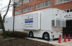 InSight mobile facility: calls on hospitals, other healthcare providers
