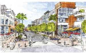 Dallas-based Stratford Land has joined Corky McMillin Cos. as an equity partner in the planned mixed-use Millenia development in Chula Vista.