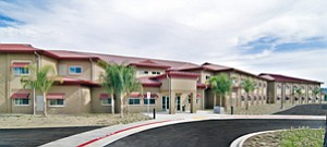 New barracks housing wounded servicemen and women at Marine Corps Base Camp Pendleton have been certified Platinum, the highest rating in the U.S. Green Building Council's Leadership in Energy and Environmental Design program. It is the first Marine Corps project to be certified at that level.
