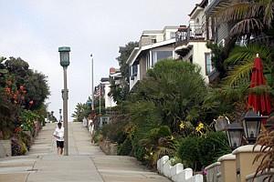 Manhattan Beach had the month's highest condo prices.