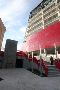 Design Center Red Building.