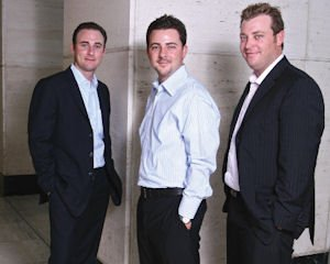 Vanderhooks, from left: Tim, Chris, Russell