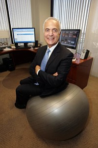 Dr. Howard Murad at Murad Inc.'s El Segundo headquarters.
