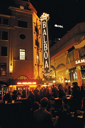 The Balboa Theatre is among 133 properties the City Council transferred from San Diego's redevelopment agency directly to the city. The council was acting to protect properties in the event that the state eliminates redevelopment agencies.