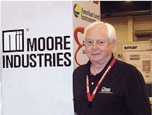 Moore: Founder of company.