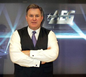 Leiweke at his L.A. Live office downtown.