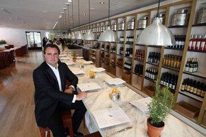 Laurent Halasz at Fig & Olive in West Hollywood.