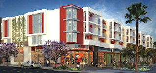 Rendering of planned San Diego apartments: part of $80 million project