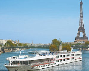 Leisure: European destinations, such as Paris, are a mainstay for Viking River Cruises.