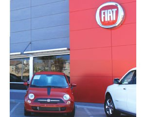 Fiat dealership in Costa Mesa: opened in March
