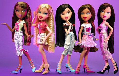 Bratz dolls, the subject of a long-running legal fight.