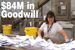 Training ground: document shredding service brings revenue, provides jobs for disabled workers