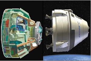 Craft: The Crew Space Transportation-100 will travel to space stations.