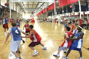Expansion plan: center on Anaheim Boulevard to add six basketball courts