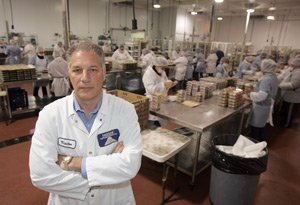 Joe Marchica, president of Fuji Food, at the company's facility in Santa Fe Springs.