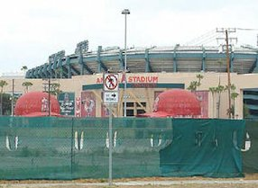 Orangewood site: next to Angel Stadium parking lot