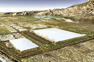 Project rendering: 20 miles from Palm Springs