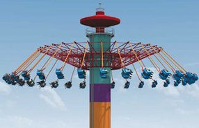 Rendition of WindSeeker: coming to Knott's