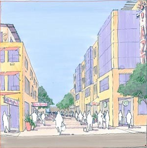 A $268 million mixed-use development, being planned by San Diego State University, would include student housing, retail elements and open space areas near the university's transit center.