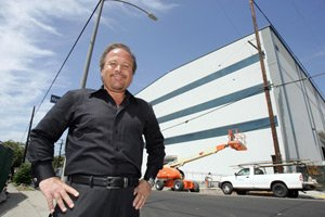 Occidental Entertainment CEO Craig Darian at his new sound stage in Hollywood.