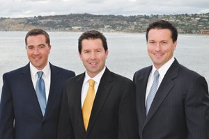 From left, Ryan, Trevor and Tim Callan started their own boutique firm, Callan Capital, in January 2007 after working for Merrill Lynch.
