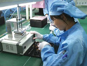 MFlex worker in China: most production now handled there