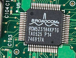 Broadcom baseband chip: yearly sales now about $500 million, analyst says