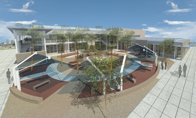 Several construction projects planned or under way at the Grossmont Union High School District include a new 21-classroom complex at Granite Hills High School in El Cajon. The complex will house classrooms designed to support the campus' medical and health sciences pathway; arts, media and entertainment pathway; and culinary arts pathway.