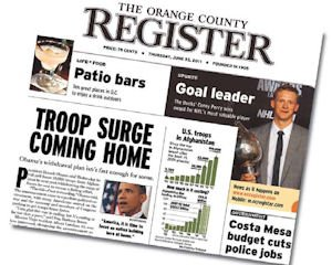 Register: would round out MediaNews regional lineup