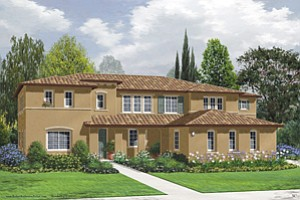 Three model homes are under construction at Verona, a luxury master-planned community of Rolling Hills Ranch in Chula Vista. Built by McMillin Communities, Verona will offer 77 homes on lots averaging half an acre.