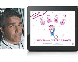Development: Harold and the Purple Crayon is the first of many digital books to come.