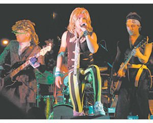 "Entertainment: The ""Senses"" event in Newhall draws crowds downtown for live music performances and more."