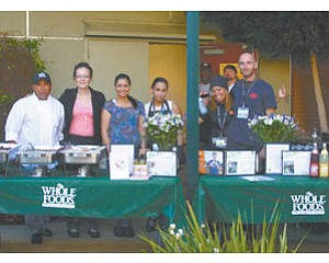 Whole Foods Market in Glendale provided food for a We Care for Youth event.