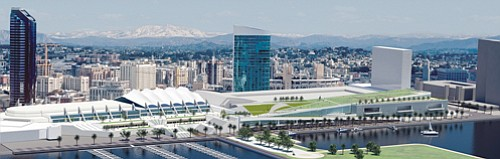 Two meetings are planned this month to gather feedback from the public on the proposed $550 million expansion of the San Diego Convention Center.