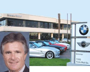 Crevier BMW, Donnie Crevier: car buff sold dealership to Penske for undisclosed terms