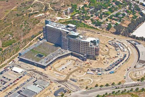 Palomar Medical Center West is being built with an eye on the future. The $956 million facility will be able to accommodate rapidly changing medical technologies.