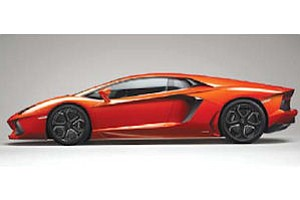 Lamborghini: Aventador LP 700-4 model drawing advance orders