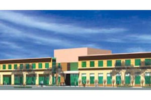Shady Creek Medical Center: three buildings planned