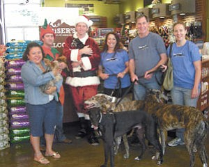 Donate: Pet store Kriser's in Studio City with animal shelter contest winners.