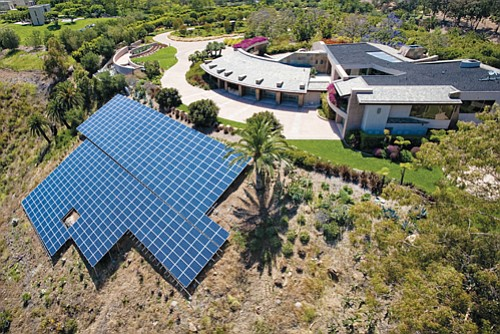 SolarWorld claims that a 150-kilowatt solar system installed in Vista is the largest residential system in the Americas that uses its equipment.