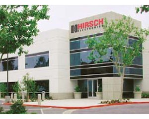 Santa Ana office: company known as Hirsch Electronics Corp. before acquisition
