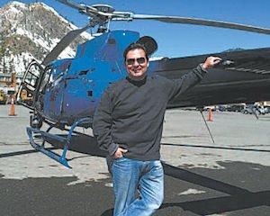 Pilot: Larry Welk, of Angel City Air.