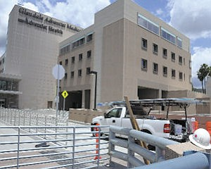 Expansion: Glendale Adventist Medical Center will finish its west tower this year.
