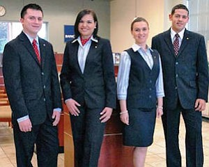Popular look: brand push includes new uniforms for employees