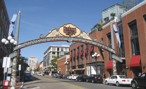 Despite the recent loss of a Borders bookstore, the Gaslamp Quarter still has among the lowest retail vacancy rates in downtown San Diego, according to Cushman & Wakefield.