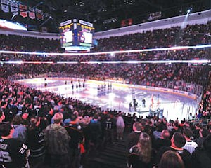 Honda Center: only five sell-outs last year