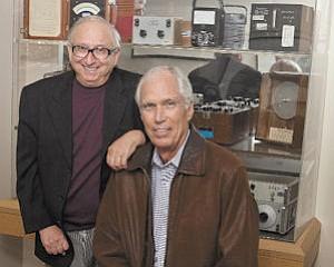 Executives: Electro Rent CEO Daniel Greenberg, left, and CFO Craig Jones.