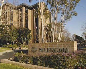 Allergan: up more than 600 workers