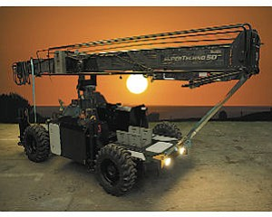 Vehicle: Panavision Remote Systems launched its 4-wheel drive Mobile Crane Base.